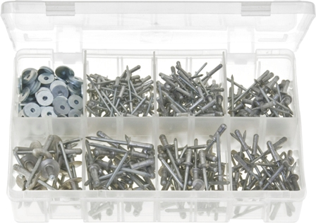 "AVDEL ""AVEX"" MULTIGRIP RIVETS WITH WASHERS (500)"