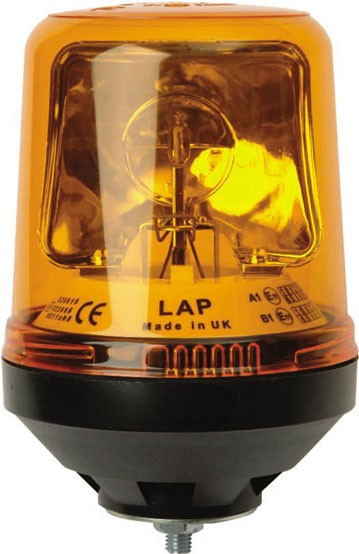 LAP ELECTRICAL HALOGEN ROTATING BEACON MAGNETIC BASE EBC102